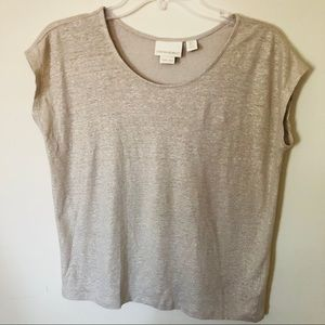 Cynthia Rowley 100% Linen Top